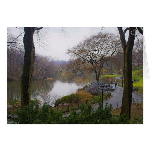 A lagoa (2) - Central Park NYC Cartao