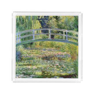 A lagoa do Água-Lírio por belas artes de Monet