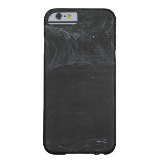 A lagoa preta (minimalismo preto) capa iPhone 6 barely there