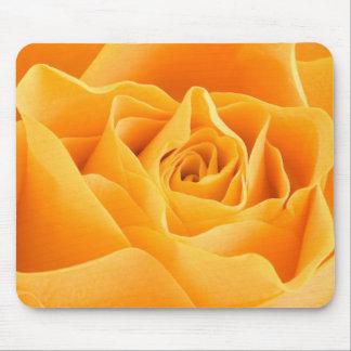 A laranja elegante aumentou mouse pads