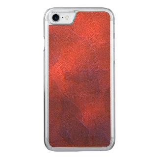 A laranja profunda com o azul roxo vívido destaca capa para iPhone 8/ 7 carved