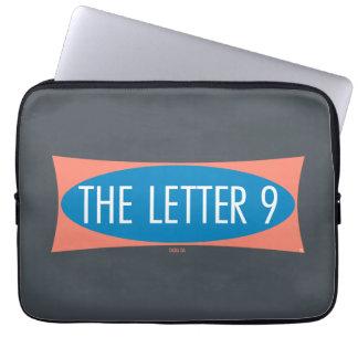 A letra 9 capa de notebook