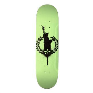 """A """"liberdade para o óleo"""" consome a plataforma do shape de skate 18,4cm"""