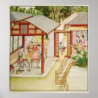 A loja da costureira chinesa poster