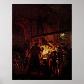 A loja de um ferreiro, 1771 poster