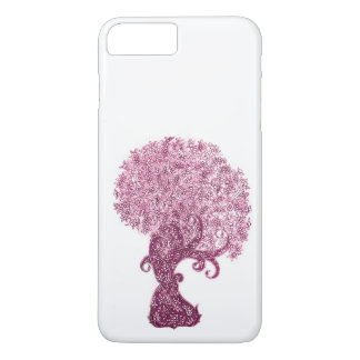 A magenta deseja a árvore capa iPhone 8 plus/7 plus
