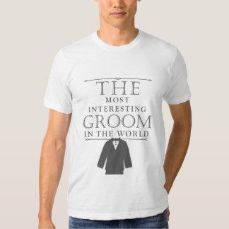 A maioria de T interessante do solteiro do noivo, T-shirts