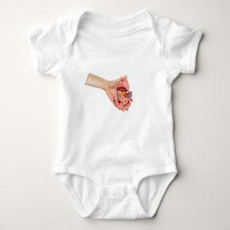 A mão fêmea guardara o modelo do rim humano camisetas