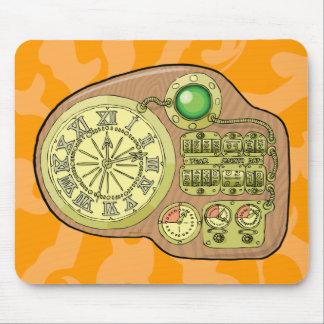 A máquina do tempo - H.G. Poço Mouse Pad
