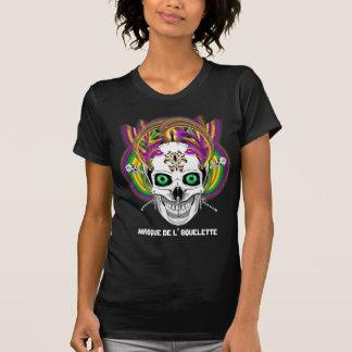 A máscara de l' Squelette do carnaval vê por favor Camisetas