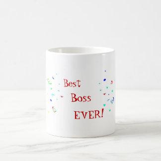 A melhor caneca do chá do café dos confetes do che