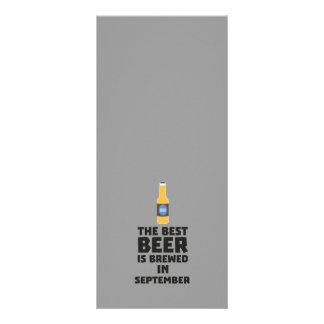 A melhor cerveja é em setembro Z40jz fabricado Panfleto