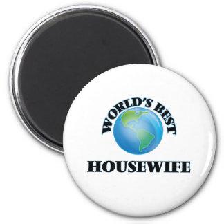 A melhor dona de casa do mundo ima de geladeira