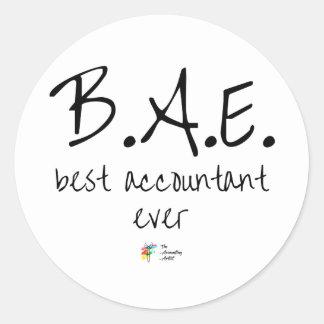 A melhor etiqueta BAE do contador nunca