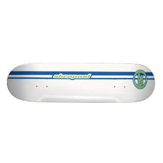 A metralha listra o azul skate