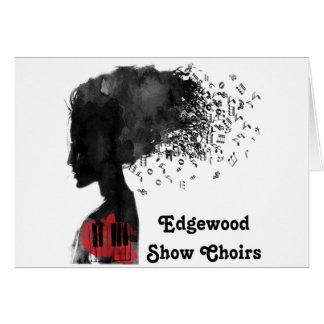 A mostra de Edgewood Choirs cartões