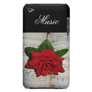 A música aumentou capa iPod touch