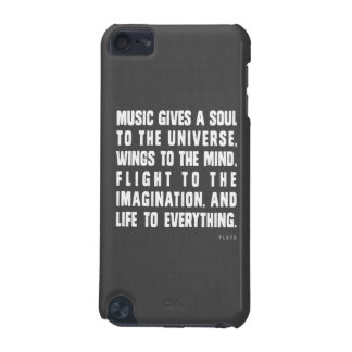 A música dá uma alma à capa de ipod do universo