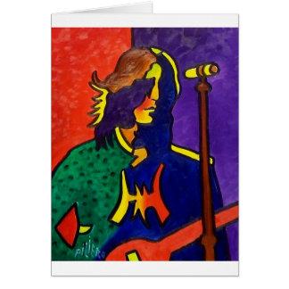 A música de Jerry Cartão Comemorativo