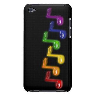 A música do arco-íris nota a capa de ipod
