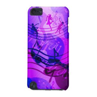 a música do ipod touch nota o rosa azul capa para iPod touch 5G