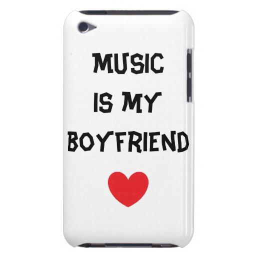 a música é meu namorado capas iPod touch Case-Mate