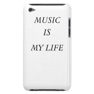 A música é minha case mate de IPod da vida Capas iPod Touch Case-Mate