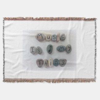 A música é minha cobertura do lance da coisa coberta