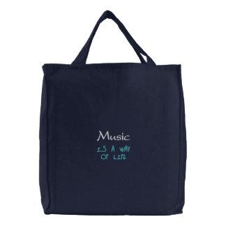 A música é um modo de vida bolsa para compra