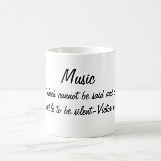 A música expressa… caneca