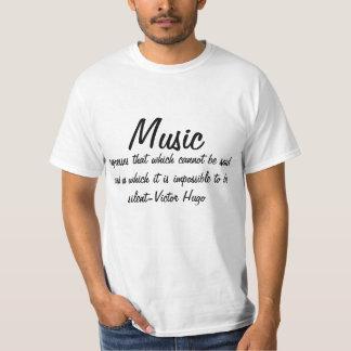 A música expressa… tshirts