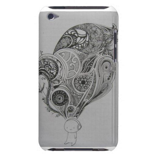"A ""música livra-nos"" cobrir do ipod touch capas iPod touch Case-Mate"