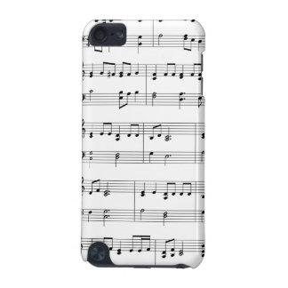A música nota a capa do ipod touch capa para iPod touch 5G