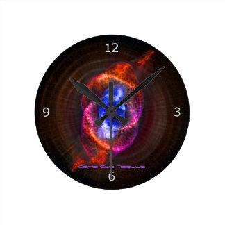 A nebulosa do olho de gatos relógios de paredes