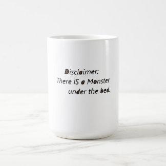 """A """"negação agride"""" lá é um monstro caneca de café"""