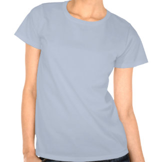 A noite passada para fora (azul) camiseta