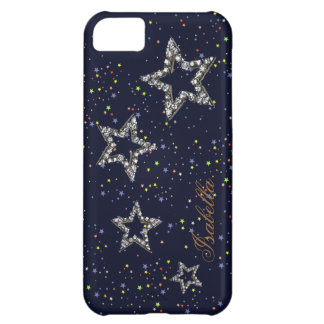 a noite stars personalizable capa para iPhone 5C