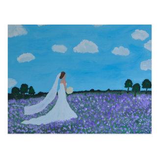 A noiva cartão postal