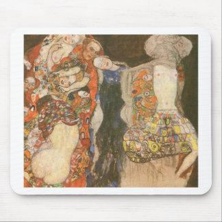 A noiva (inacabado) por Gustavo Klimt Mouse Pad