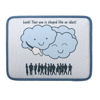 A nuvem zomba desenhos animados engraçados das for capa para MacBook