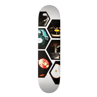 A obscuridade projeta a plataforma 10 shape de skate 18,4cm