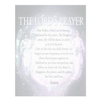 A Oração do senhor Flyer 21.59 X 27.94cm