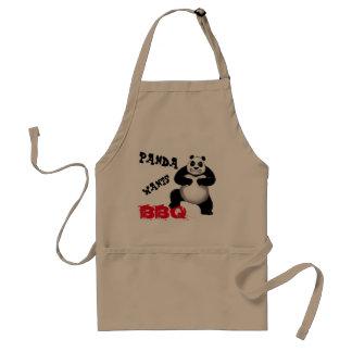 A panda da panda quer o avental do CHURRASCO