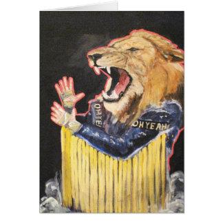 A parte de leões é sempre justa!! cartão