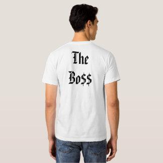 A PARTE SUPERIOR do CHEFE T-shirts