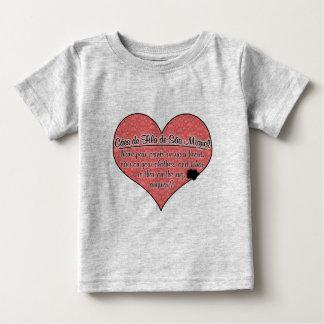 A pata de Miguel do Sao de Cao de Filamento de Camisetas