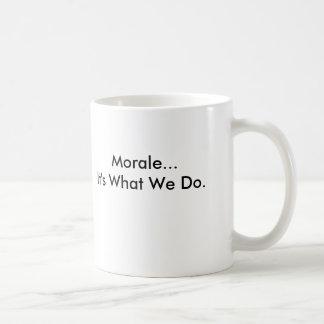 A pequena associação, moral… é o que nós fazemos caneca de café
