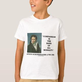 A piedade é a base de todas as citações da t-shirt