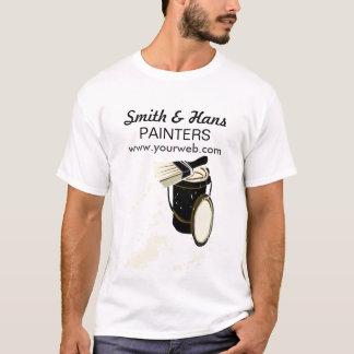 A pintura do pintor de casa Splatters a escova de Camiseta