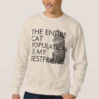 A população inteira do gato sueter